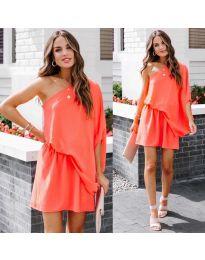 Šaty - kód 9933 - oranžová