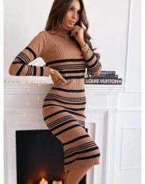 Šaty - kód 5980 - 4 - barevné