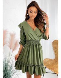 Šaty - kód 8554 - zelená