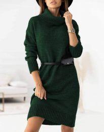 Šaty - kód 0393 - zelená