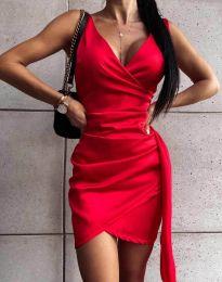 Šaty - kód 4678 - červená