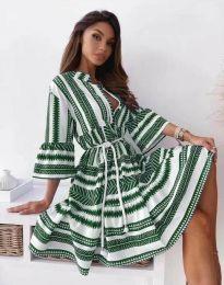 Šaty - kód 1481 - zelená