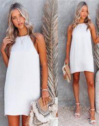 Šaty - kód 2169 - bíla
