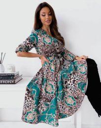 Šaty - kód 6027 - vícebarevné