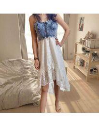Šaty - kód 0717 - bíla