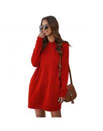 Šaty - kód 785 - červená