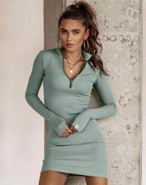 Šaty - kód 4288 - mentolová