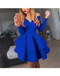 Šaty - kód 228 - modrá