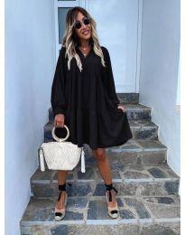 Šaty - kód 6643 - černá