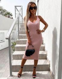 Šaty - kód 2960 - růžová