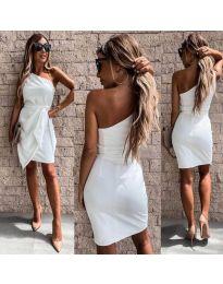 Šaty - kód 2457 - bíla