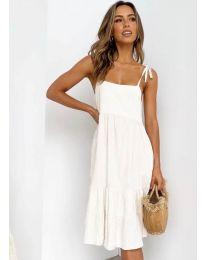 Šaty - kód 630 - bílá