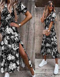 Šaty - kód 6212 - černá