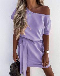 Šaty - kód 6737 - světle fialová