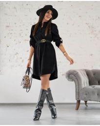 Šaty - kód 9601 - černá
