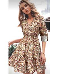 Šaty - kód 979 - 2 - barevné