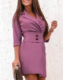 Šaty - kód 1357 - fialová
