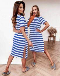 Šaty - kód 7794 - modrý