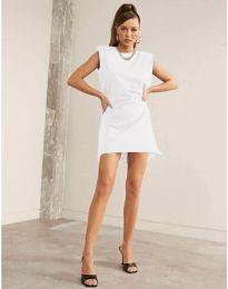 Šaty - kód 625 - bílá