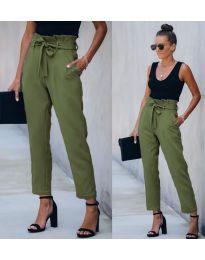 Kalhoty - kód 6077 - 7 - zelená