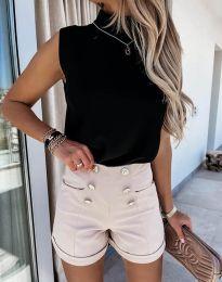Krátké kalhoty - kód 6815 - bežová
