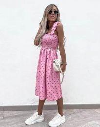 Šaty - kód 4535 - růžová