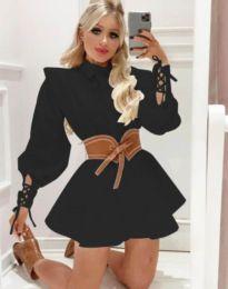 Šaty - kód 44589 - 1 - černá