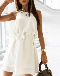Šaty - kód 9968 - bílá