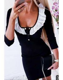 Šaty - kód 1032 - 1 - černá