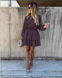 Šaty - kód 7723 - černá