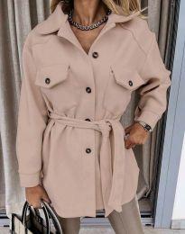 Kabát - kód 4966 - pudrová