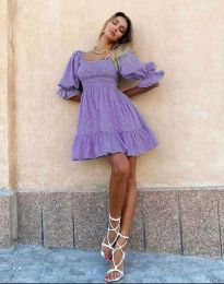 Šaty - kód 4791 - 1 - fialová
