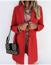 Kabát - kód 7709 - červená