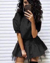 Šaty - kód 2856 - černá