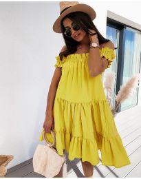 Šaty - kód 805 - žlutá
