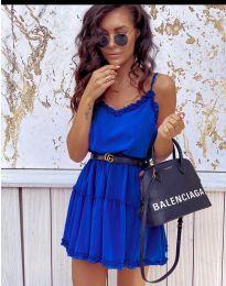 Šaty - kód 7758 - tmavě modrá