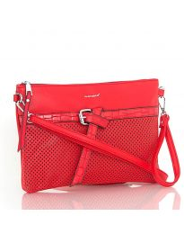 kabelka - kód LS589 - červená