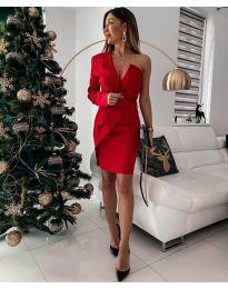Šaty - kód 15944 - 3 - červená