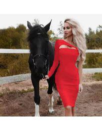 Šaty - kód 955 - červená