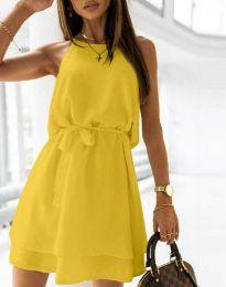 Šaty - kód 9968 - žlutá