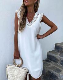 Šaty - kód 8263 - 1 - bíla