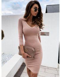 Šaty - kód 4040 - pudrová