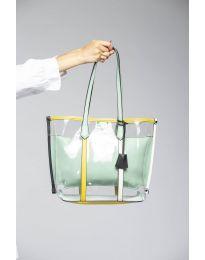 kabelka - kód LS542 - zelená