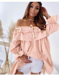 Šaty - kód 9865 - růžova