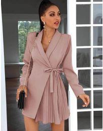 Šaty - kód 0333 - pudrová