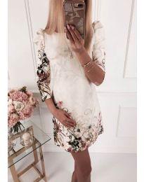 Šaty - kód 240 - bíla