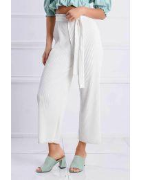 Kalhoty - kód 4512 - bíla