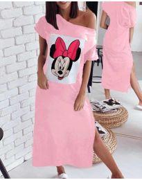 Šaty - kód 6656 - růžová