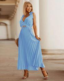 Šaty - kód 5290 - světle modrá
