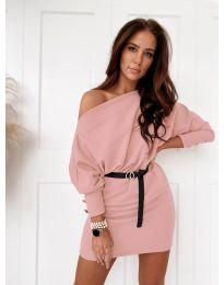 Šaty - kód 4442 - růžová